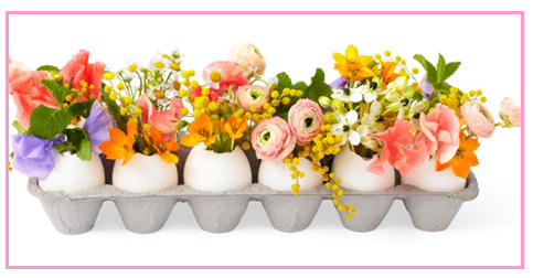 Egg Carton Decor for Easter