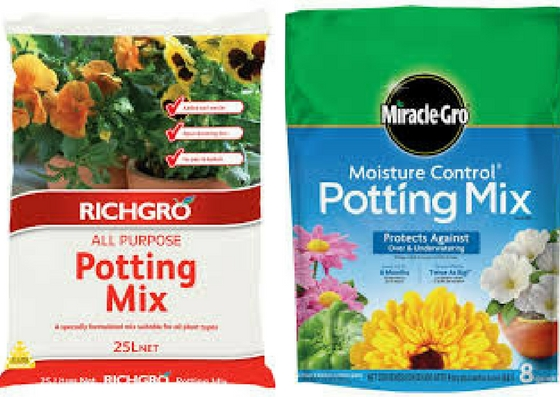 get quality potting mix for your Herb Garden in an Apartment