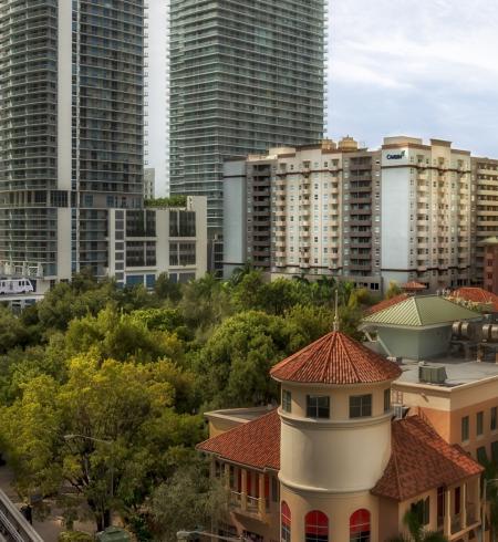 Camden Brickell Apartments in Miami, Florida.