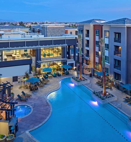 Camden Hayden apartments in Tempe, Arizona.