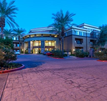Camden Copper Square apartments in Phoenix, Arizona.