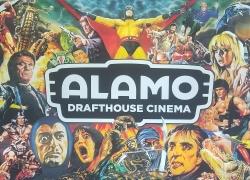 Alamo Drafthouse Corpus Christi, mural inside Alamo Drafthouse