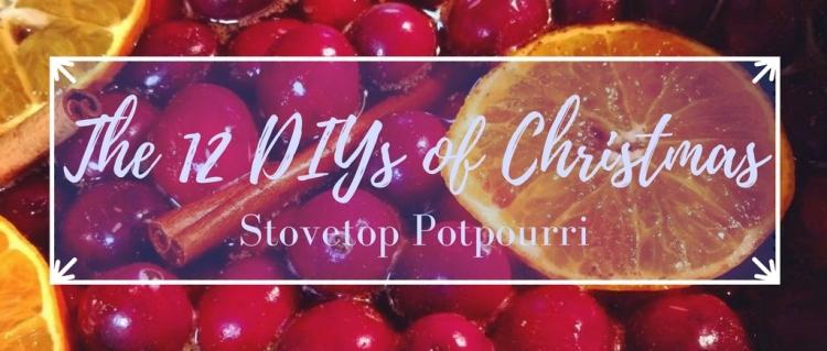 The 12 DIYs of Christmas: Stovetop Potpourri